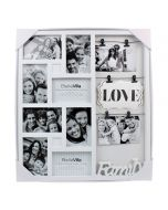Bella Villa 8 Opening Collage Frame with Clips