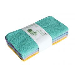 Home Soft Washcloths Assorted Colours 20 Pack