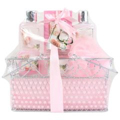 Rose Basket Gift Set