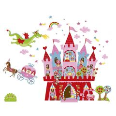 Janod Magneti'stick Princess Wall Stickers
