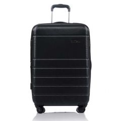 Champs Journey Collection 24in Hard Side Luggage Black