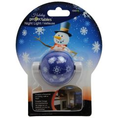 Projectables LED Holiday Snowman Night Light