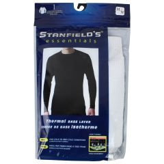 Stanfield's Essentials Thermal Base Layer Long Sleeve T-Shirt