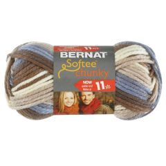 Bernat Softee Chunky Ombre Yarn 80g Nature's Way