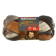 Bernat Softee Chunky Ombre Yarn 80g Stillness