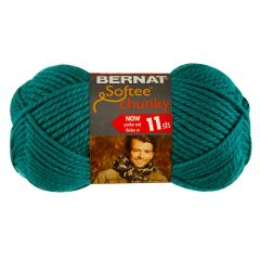Bernat Softee Chunky Yarn 100g Emerald