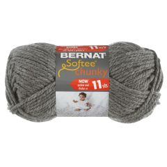 Bernat Softee Chunky Yarn 100g True Grey