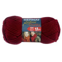 Bernat Softee Chunky Yarn 100g Wine