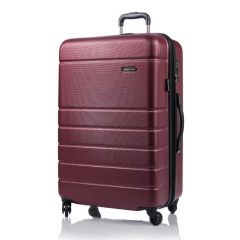 Champs Journey Collection 28in Hard Side Luggage Red