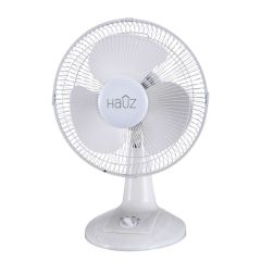 Hauz Oscillating Desk Fan 12in