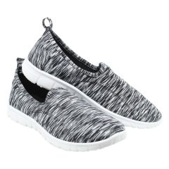 Gravasphere Memory Foam Slip On Sneaker Grey