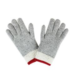 Fits Womens Wool Glove Grey One Size