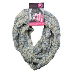 BB Collection Knit Infinity Scarf
