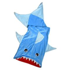 Kids Plush Novelty Blanket Shark