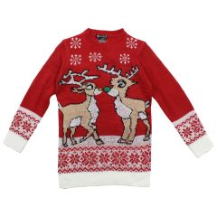 Margie Girls Sweater Christmas Themed Size 7-14