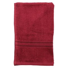 Crystal Hand Towels 16 X 26 Red