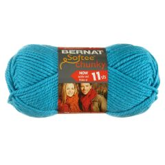 Bernat Softee Chunky Yarn 100g Ultra Blue