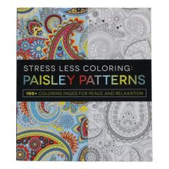 Paisley Pattern Adult Colouring Book