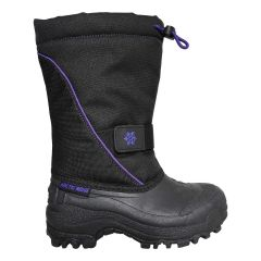 Arctic Ridge Drawstring Winter Boot Black