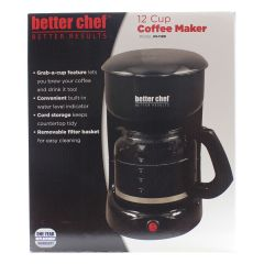 Better Chef 12 Cup Coffee Maker