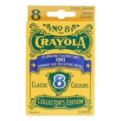 Crayola Limited Edition Vintage Crayons 8 Pack