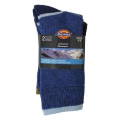 Dickies Thermal Crew Socks 2Pk Size 6-9