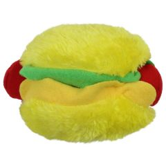 Dog Plush Toy With Squeaker Assorted