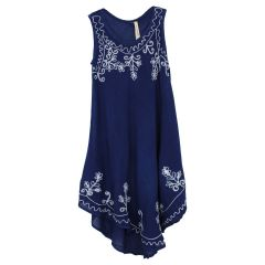 Kids by Exist Umbrella Dress Navy Size 4-12
