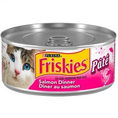 Friskies Salmon Pate Dinner 156g