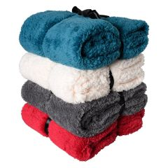 Home Essentials Teddy Bear Super Soft Throw