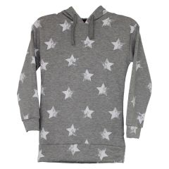 Margie Girls Pull On Star Print Sweater Size 7-14