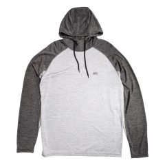 Rawlings Raglan Long Sleeve Sweater Grey