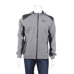 NXT GEN Fleece Zip Hoodie Charcoal