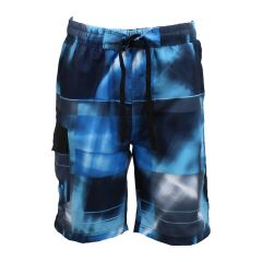 Printed Swim Style Board Shorts