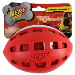 Nerf Dog Crunch-able Football Dog Toy