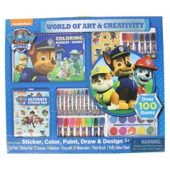 Nickelodeon Paw Patrol Giant Art Creativity Tray