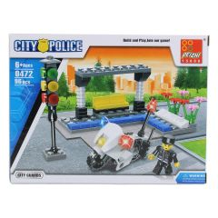 City Guards Police Department Building Blocks