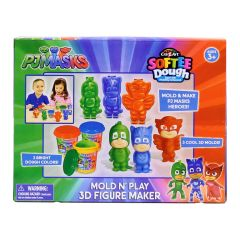 Cra-Z-Art - PJ Masks Mold N' Play 3D Figure Maker