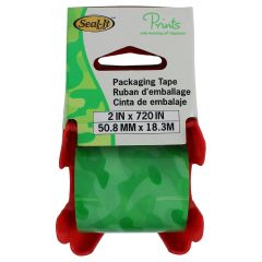 Seal It Packaging Tape & Dispenser Camouflage