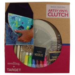 Seedling Design Your Own Artsy Vinyl Clutch Kit
