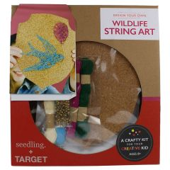 Seedling Design Your Own Wildlife String Art Kit