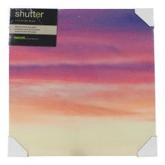 Shutter Purple Haze 1 Canvas Print 12 x 12 Inch