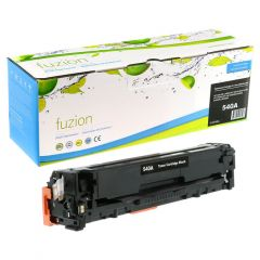 fuzion™ Re-manufactured  HP Colour CB540A Toner Cartridge Black