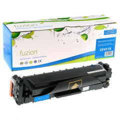 fuzion™ New Compatible CF411X-NC Toner Cartridge Cyan