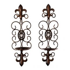 Candle Wall Sconce 2Pk