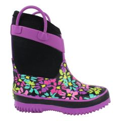 Western Chief Neoprene Rubber Rain Boot Purple