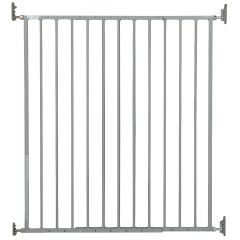 Storkcraft Easy Walk-Thru Tall Metal Safety Gate Gray