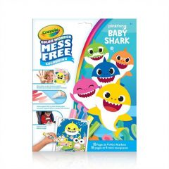 Crayola Color Wonder Colouring Pages Baby Shark