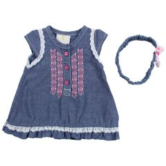 Duck Duck Goose Chambray Eyelet 3 Piece Set