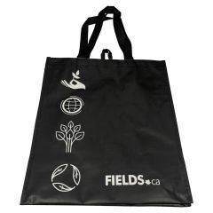 Reusable Shopping Tote Black